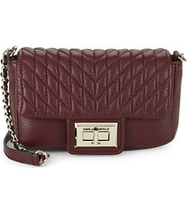 agyness faux leather crossbody bag