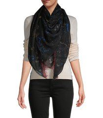 galaxy cashmere & silk shawl