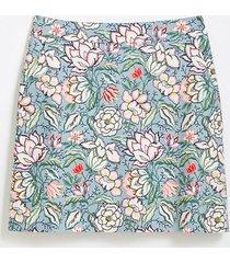 loft floral pocket shift skirt