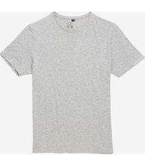 camiseta john john rg basic mescla malha cinza masculina (cinza mescla claro, gg)