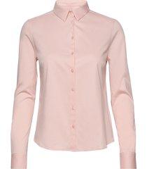 tina jersey shirt overhemd met lange mouwen roze mos mosh
