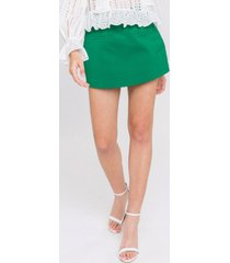 english factory front welt pockets skort