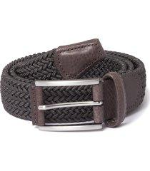 anderson's grey woven belt af3689-g6