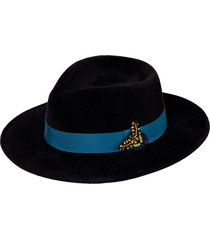 mg x gigi burris almond fedora hat
