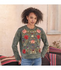 driftwood jeans teddy pullover