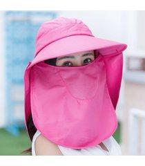 sombrero de protección solar rostro protección solar sombrero de sol