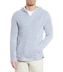 faherty baja beach hoodie, size small in whitewater at nordstrom