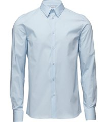 m. paul stretch shirt overhemd business blauw filippa k
