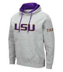 colosseum men's lsu tigers big logo hoodie