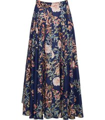 aquinnah midi floral skirt