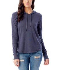 alternative apparel women's cozy pullover hoodie