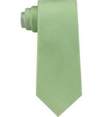 tommy hilfiger men's textured solid silk tie