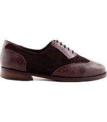 zapato marrón briganti mujer bamba