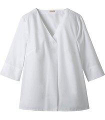 blouseshirt van bio-katoen, wit 36