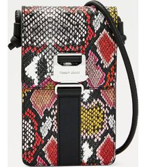tommy hilfiger women's reptile hanging pouch snake -