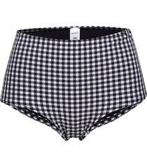 l. high-waist panty bikinitrosa svart skiny