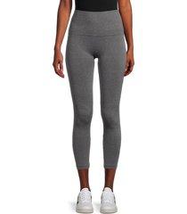 bagatelle women's seamless leggings - charcoal - size s