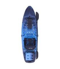 caiaque hunter fishing 285 safira pro + cooler brudden náutica