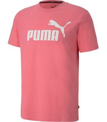 camiseta ess logo tee sl puma hombre 853400 14 rosa