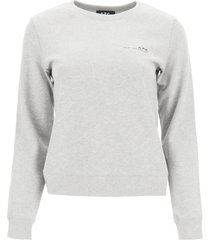 a.p.c. item 001 sweatshirt with logo