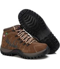 bota adventure tchwm shoes couro trilha caminhada dia dia