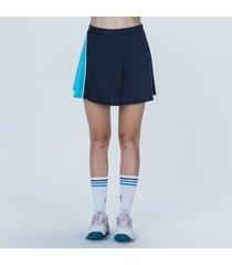 pollera azul fila aus 21 jogo tenis