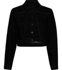 bixby jeansjack denimjack zwart baum und pferdgarten
