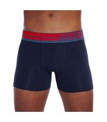 cueca boxer em cotton com elastano punho seamless lupo .