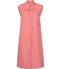 day palm knälång klänning rosa day birger et mikkelsen
