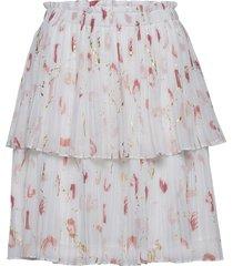 brush esmina skirt kort kjol blå bruuns bazaar