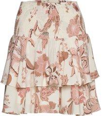 skirt kort kjol creme sofie schnoor