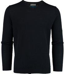bos bright blue aron v-neck pullover 20305ar21bo/290 navy