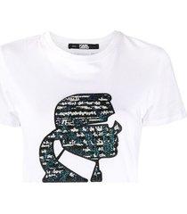 sparkle boucle profile t-shirt