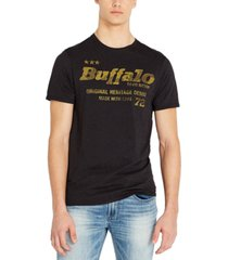 buffalo david bitton men's tafea logo t-shirt