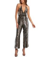 bardot disco jumpsuit