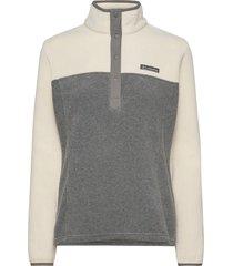 benton springs™ 1/2 snap pullover sweat-shirt tröja grå columbia