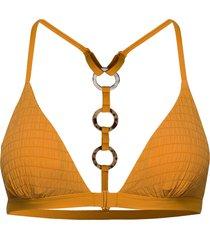 goldenrod triangle bikinitop gul hunkemöller