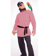 buyseason men's pirate matie shirt costume