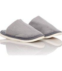 slippers comfy colors unisex gris