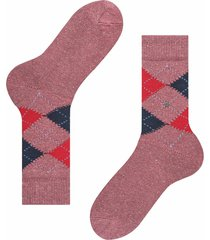 burlington socks tweed argle socks | pink marl | 21924-8185