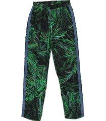 geisha 91123-20 999 broek black/green combi.