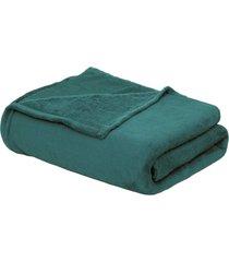 """cobertor beb㊠90cm x 1,10m verde petrã""""leo - multicolorido - dafiti"""