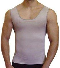 cinta modeladora camisete skin esbelt masculino ref 5770