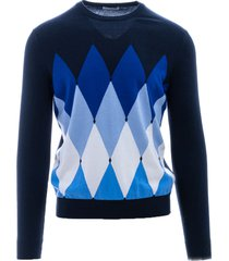 cotton and cashmere sweater ballantyne