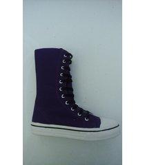 zapatilla violeta f