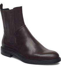 amina shoes boots ankle boots ankle boot - flat brun vagabond