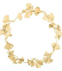 aurelie bidermann tangerine necklace - metallic