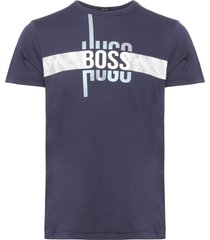 boss athleisure navy t-shirt 50377851