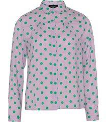 vefia-shirt violet dot