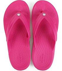 chinelo crocs infantil crocband flip gs - feminino
